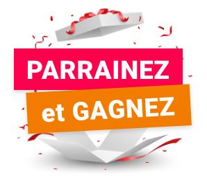 Logo de parrainage Parrainez et Gagnez