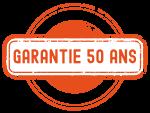 Tampon garantie 50ans