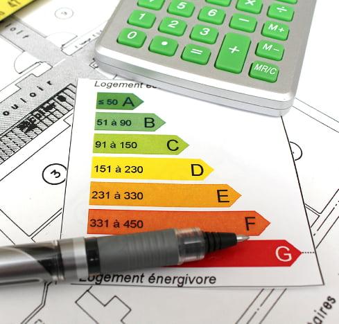 Critères de performance énergétique de A à G