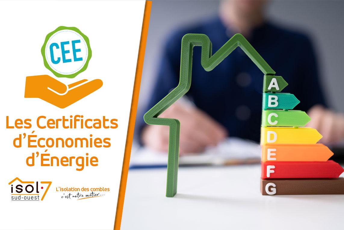 les certificats d'économies d'énergie isolation agen
